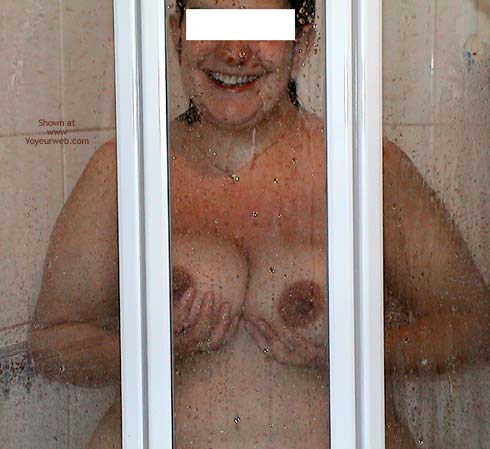 Pic #2 - My Pregnant Wife in Shower