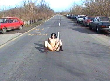 Pic #7 - Sitting On The Road 1