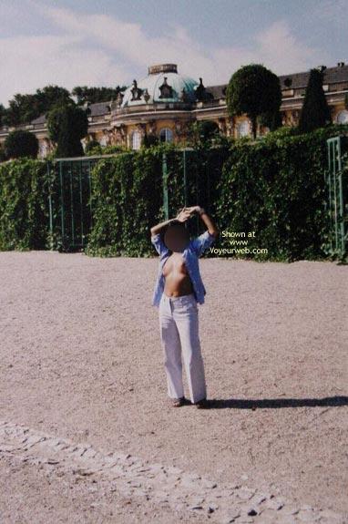 Pic #5 - Tits Out At Sanssoucis