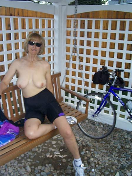 Pic #3 - PJ Out Bike Riding