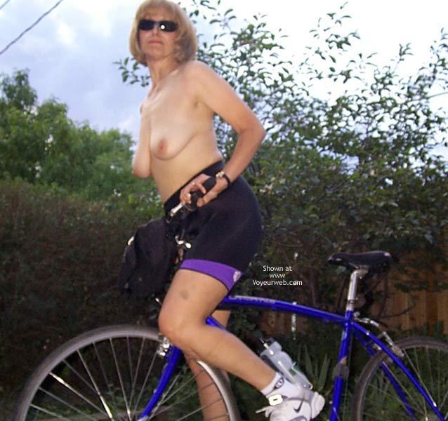 Pic #6 - PJ Out Bike Riding