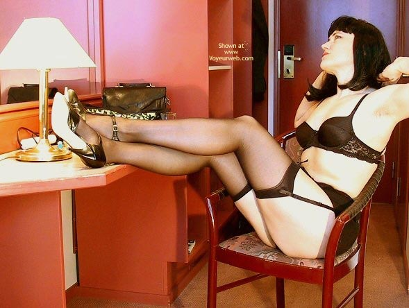 Pic #1 - Bettie Page On The Floor