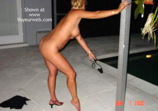 Pic #7 - Stripping by The Pool in Florida
