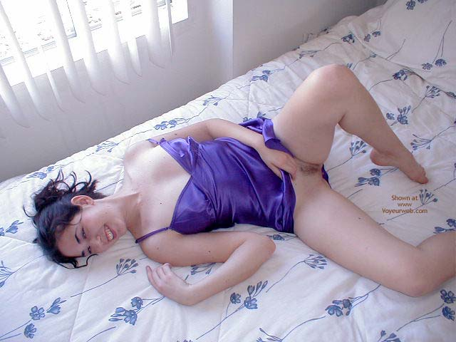 Pic #4 - Soft Purple Nighty by a Window