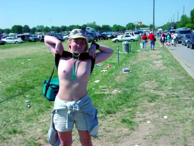Pic #4 - Bare Hunting at Indy 500