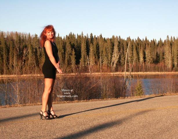 Pic #3 - 47 yo Red Tonya -11 Outdoor Sunset
