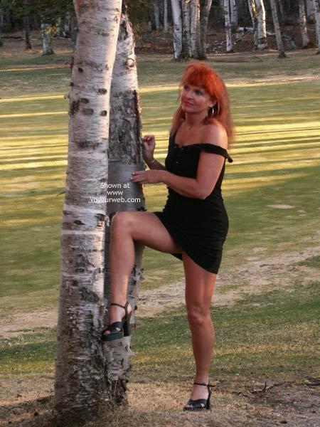 Pic #8 - 47 yo Red Tonya -11 Outdoor Sunset