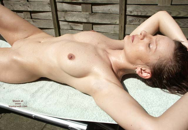Pic #8 - Susy Rocks First Sunbathing Outside This Year