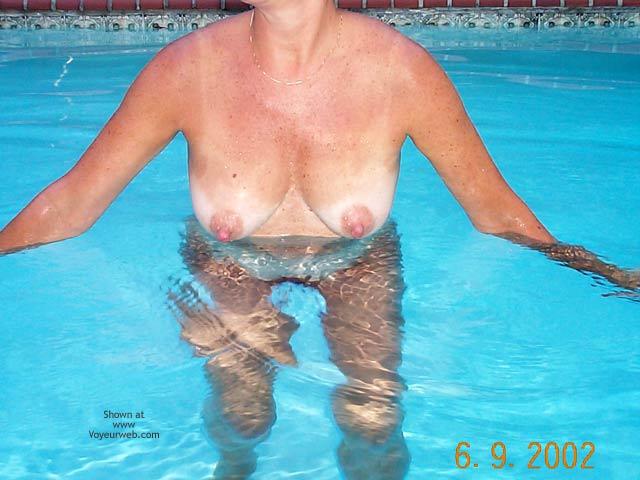 Pic #2 - Backyard Girl Goes Swimming