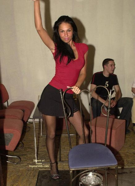 Pic #1 - Her First Performance As Stripper