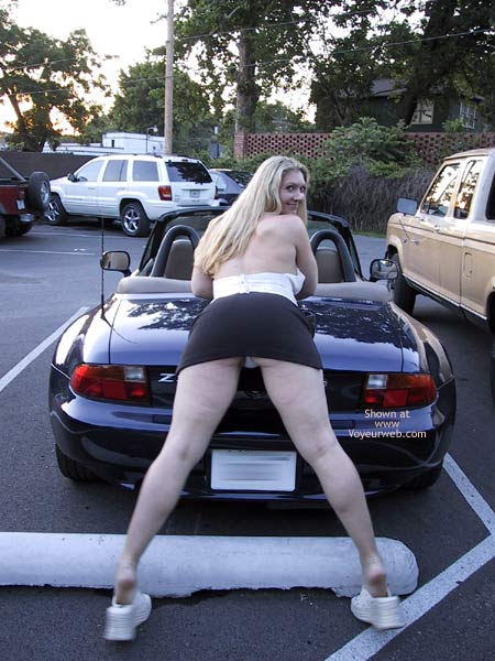 Pic #3 - MissMuscle Parking Lot Pics