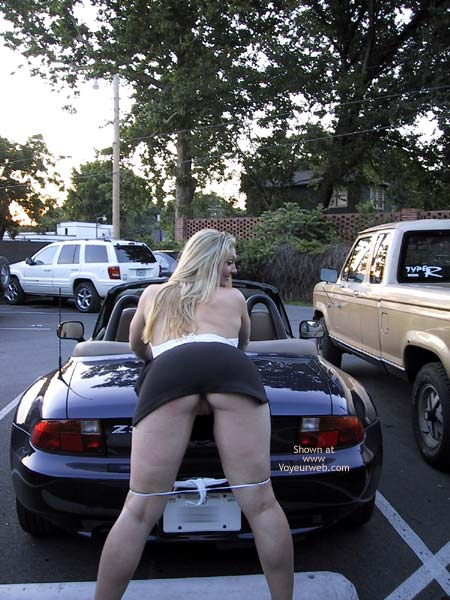 Pic #4 - MissMuscle Parking Lot Pics