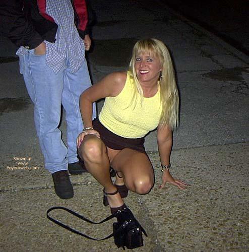 Pic #4 - *NP Flashingal Pantyless in Public