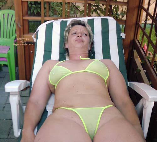 Pic #4 - Christine in WW Bikini
