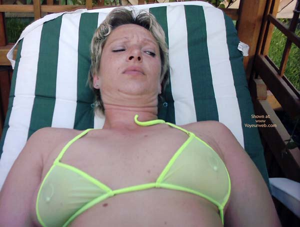 Pic #6 - Christine in WW Bikini