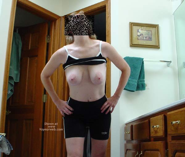 Pic #1 - Cafeteria Lady After Her Workout 2