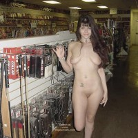 My Girlfriend in Adult Bookstore