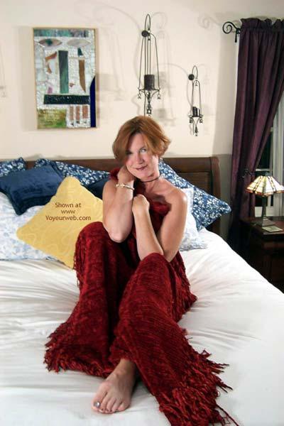 Pic #1 - Carolina Bi Babe's Red Shawl