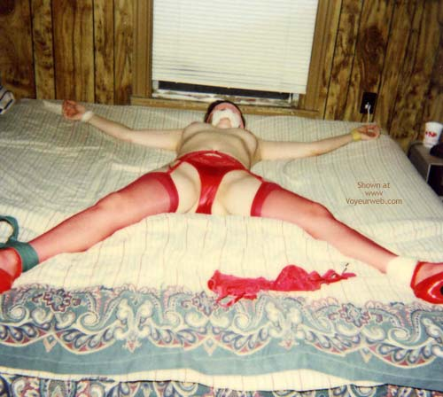 Pic #3 - My Wife Tied Up