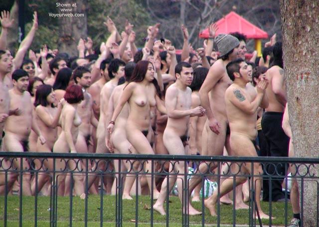 Pic #7 - Santiago de Chile 5 C Nude Performance 2