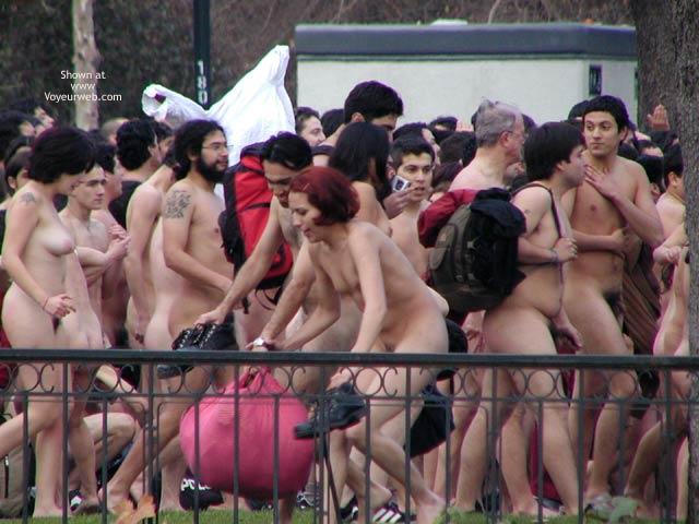 Pic #8 - Santiago de Chile 5 C Nude Performance 2