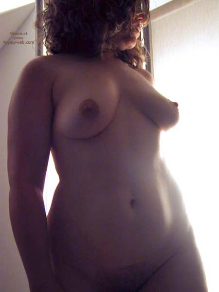 Pic #2 - OH Wife Hard Nipples, Shadows & Curves