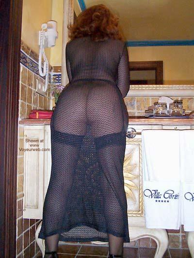 Pic #1 - See Thru Dress and Stockings