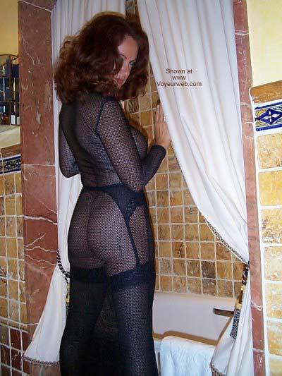 Pic #4 - See Thru Dress and Stockings