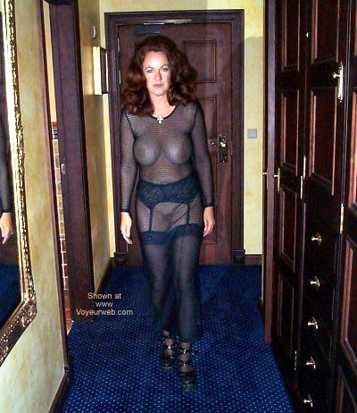 Pic #5 - See Thru Dress and Stockings