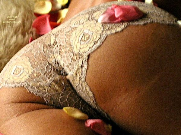 Pic #7 - Rose Petals 2 With Lingerie