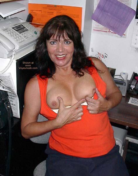 Pic #3 - Gayle at Work