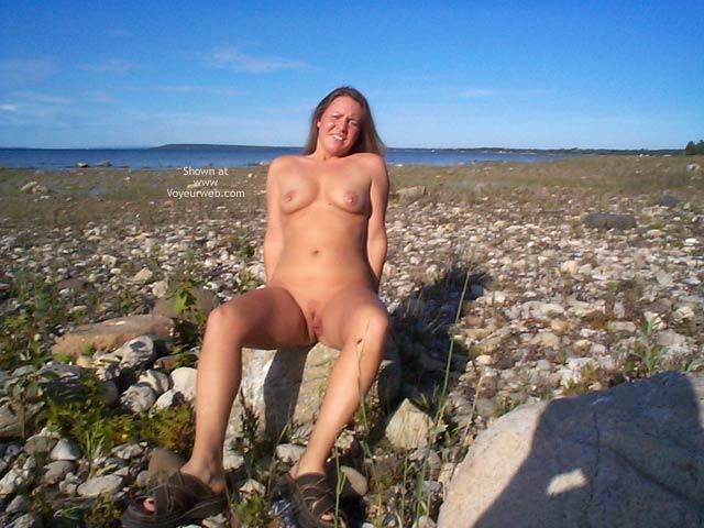 Pic #4 - *NE Stephanie On a Big Rock