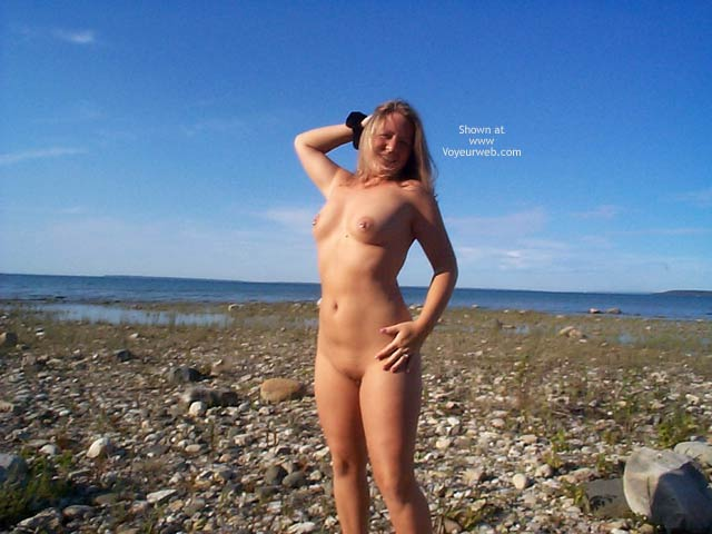 Pic #6 - *NE Stephanie On a Big Rock