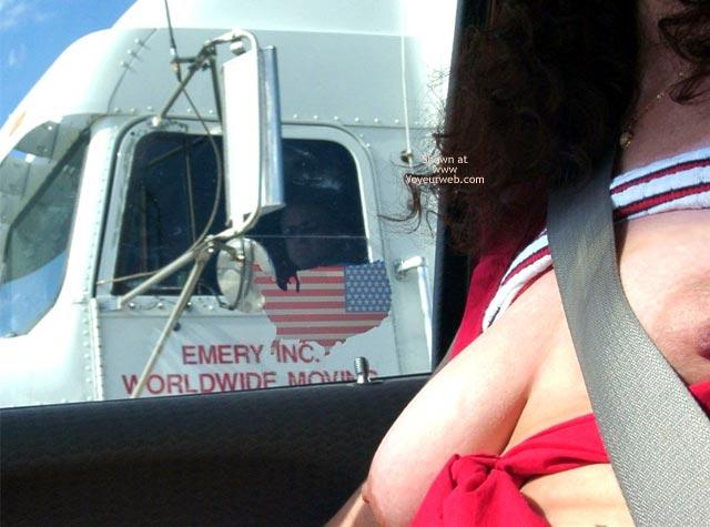 Pic #1 - Misti's First @ Truck Flashing