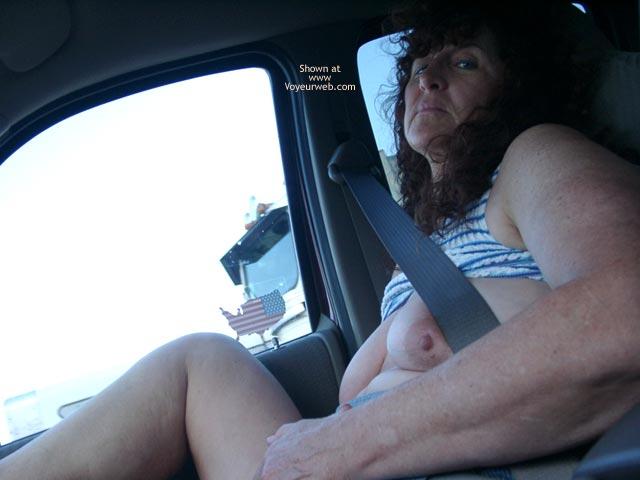 Pic #4 - Misti's First @ Truck Flashing