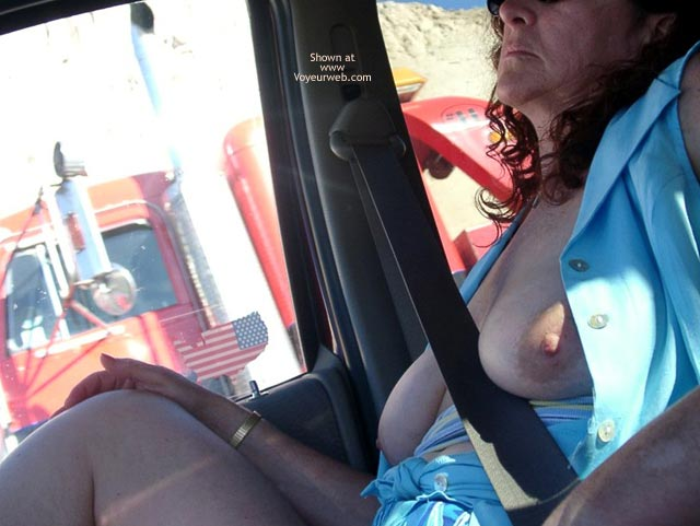 Pic #5 - Misti's First @ Truck Flashing