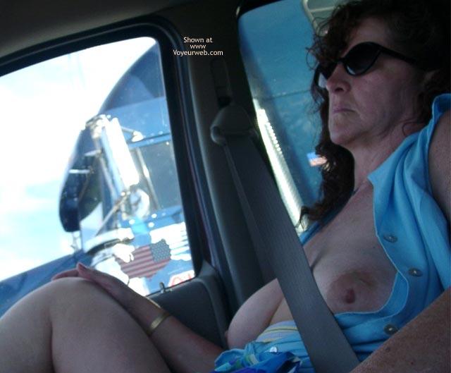 Pic #8 - Misti's First @ Truck Flashing