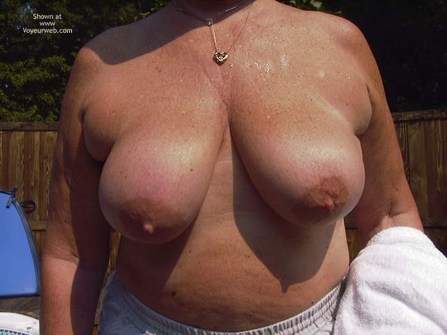Pic #3 - Tanning Tits