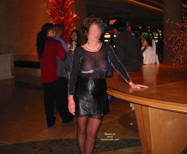Pic #1 - Renee In Transparent Clothes Again