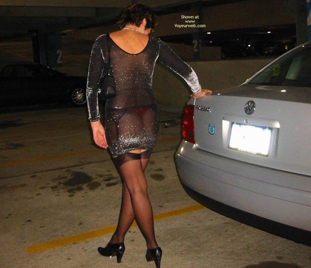 Pic #8 - Renee In Transparent Clothes Again