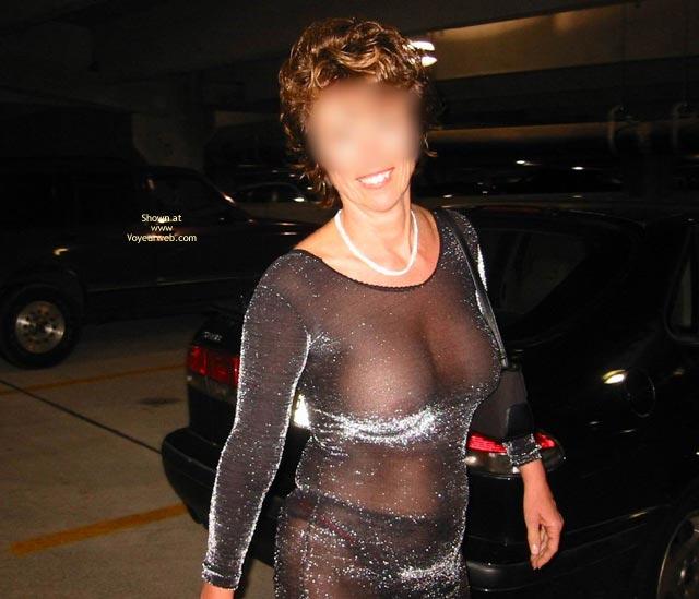 Pic #9 - Renee In Transparent Clothes Again