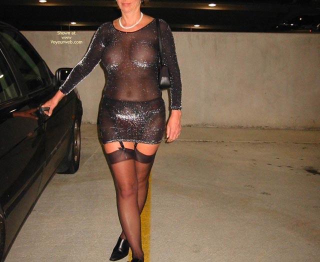 Pic #10 - Renee In Transparent Clothes Again