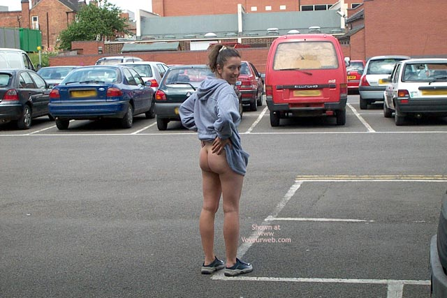 Pic #1 - Wife in Car Park