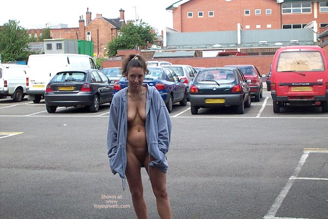 Pic #2 - Wife in Car Park