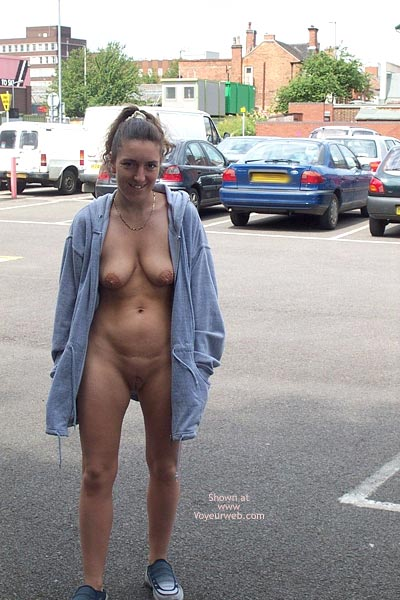 Pic #5 - Wife in Car Park