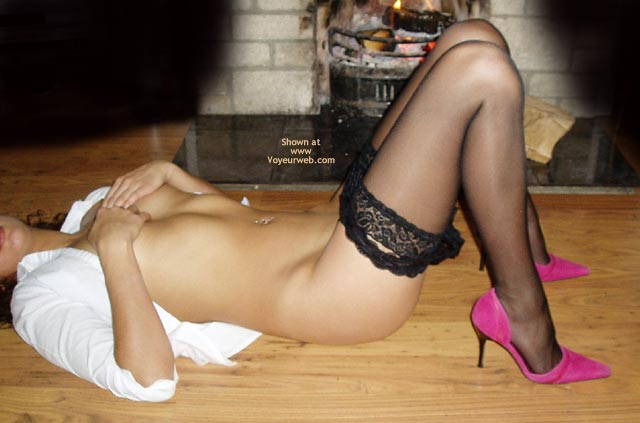 Pic #1 - Pink Heels And Stockings 2