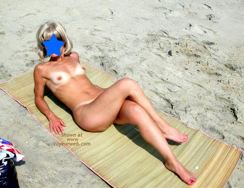 Pic #2 - Amy - Naked at The Beach