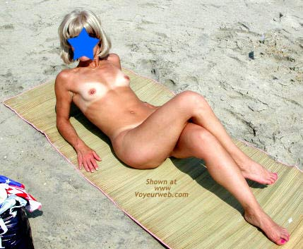 Pic #6 - Amy - Naked at The Beach
