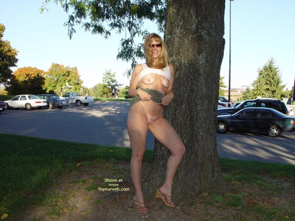 Pic #1 - Natasha Teasing On Campus