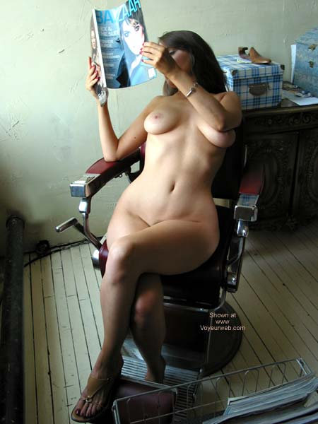 Pic #1 - VW_Laura On a Barber's Chair